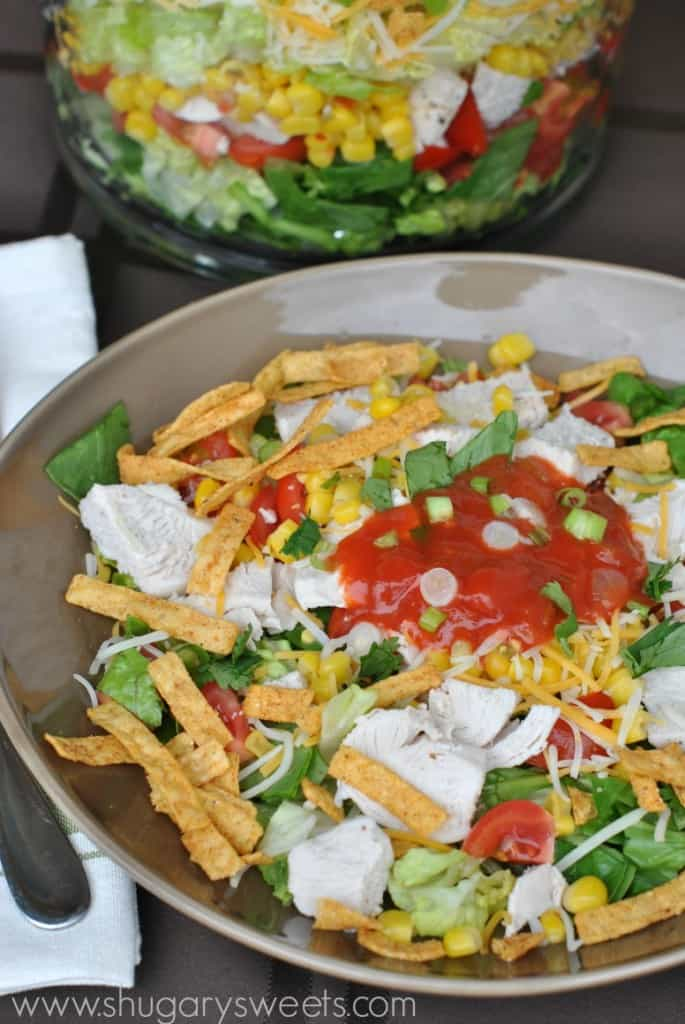 taco taco salad taco salad wraps two bean taco salad layered raw taco ...