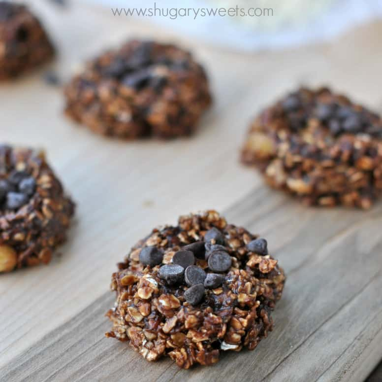 ... SKINNY cookie? Try making a batch of Skinny No Bake Chocolate Cookies