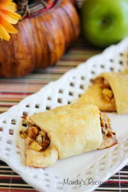 #ApplePie Crescents