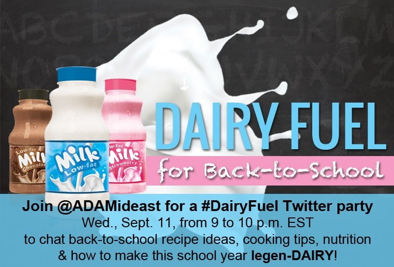 #DairyFuel Twitter party graphic