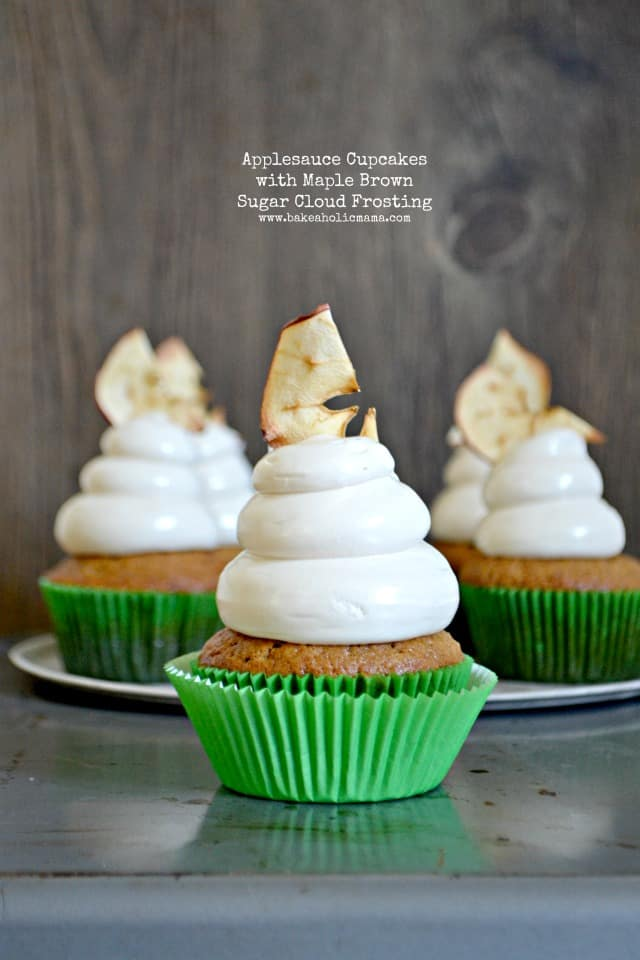 apllesauce cupcakes maple