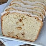 Apple Pound Cake with Cinnamon Glaze