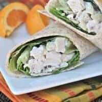 Easy Chicken Salad Wraps