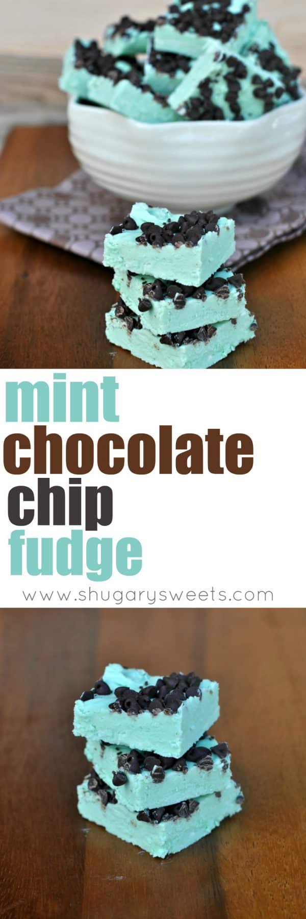 I took 2 Ingredient fudge to a new level using Duncan Hines Mint Chocolate frosting creations, vanilla frosting and white chocolate. Seriously, the easiest fudge recipe around, with so many flavor possibilities!