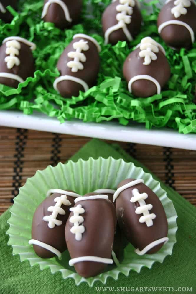 Peppermint Patty Footballs