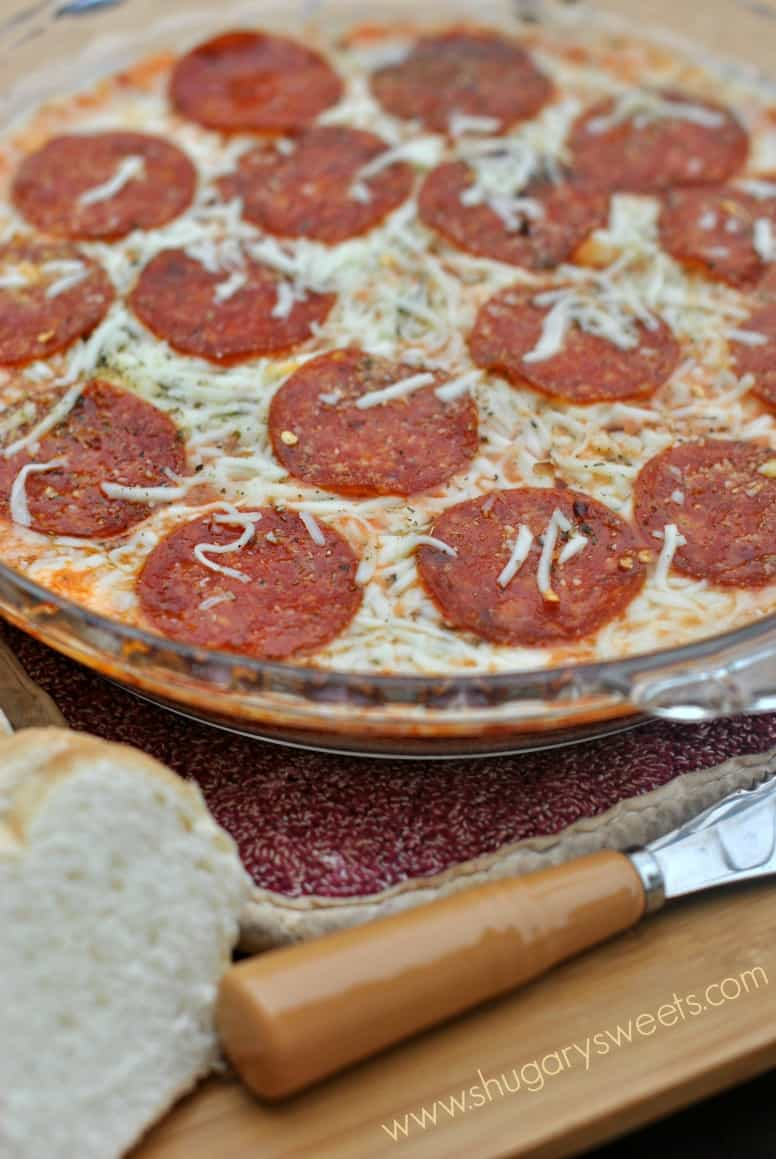Pepperoni Pizza Dip An Easy Appetizer That S Sure To Please Any Crowd