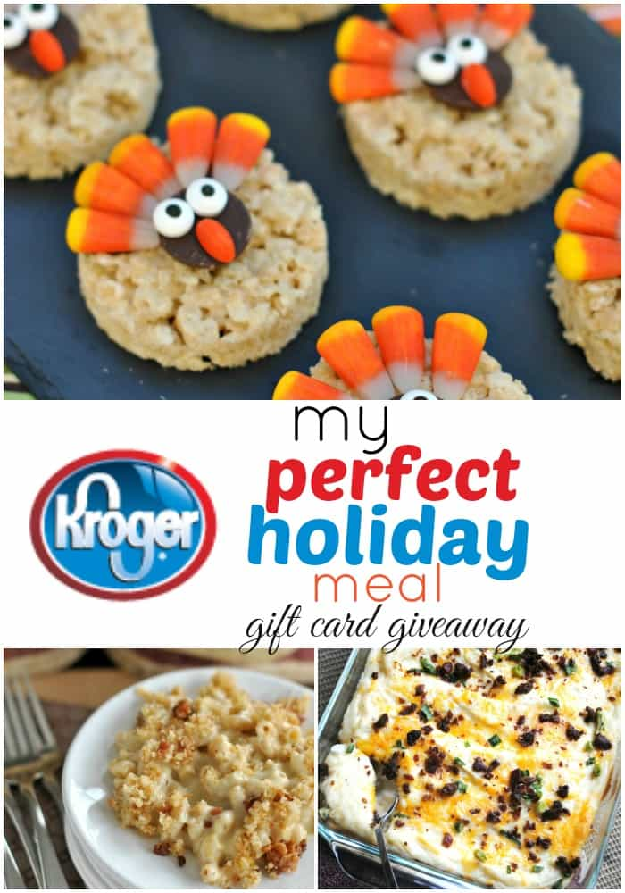 My Perfect Holiday Meal ideas #KrogerHoliday