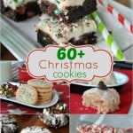 60+ Christmas Cookies all listed in one place! You