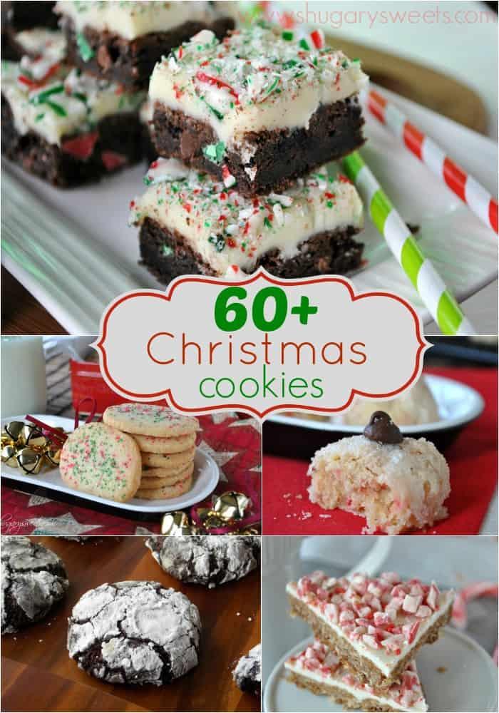 60 Christmas Cookies Shugary Sweets