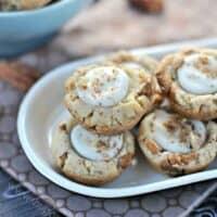 Butterscotch Cookie Cups