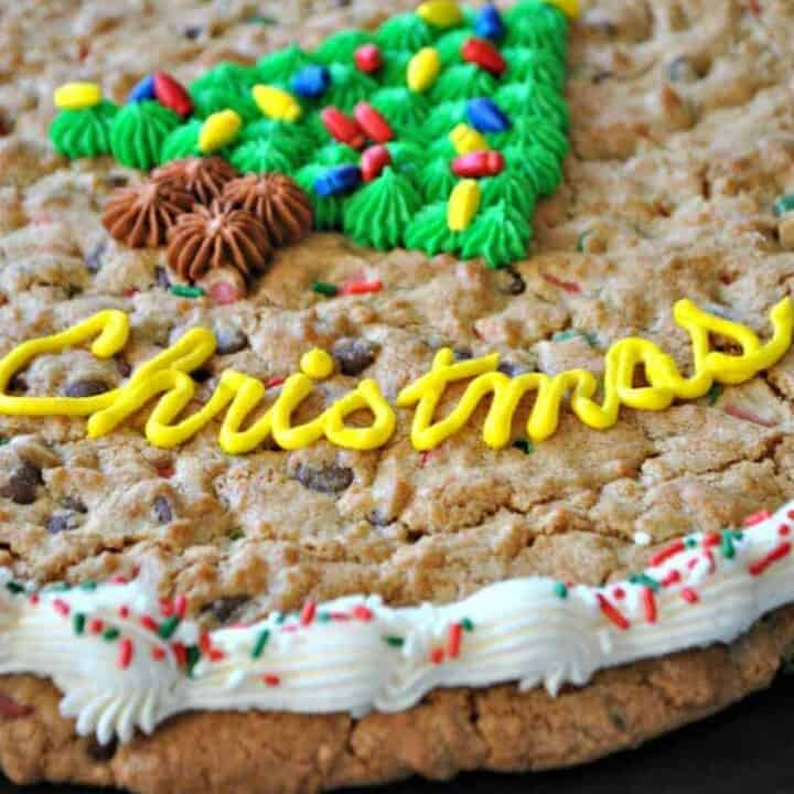 Christmas Cookie Cake