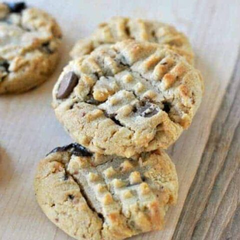 Peanut Butter CHUNKY cookies