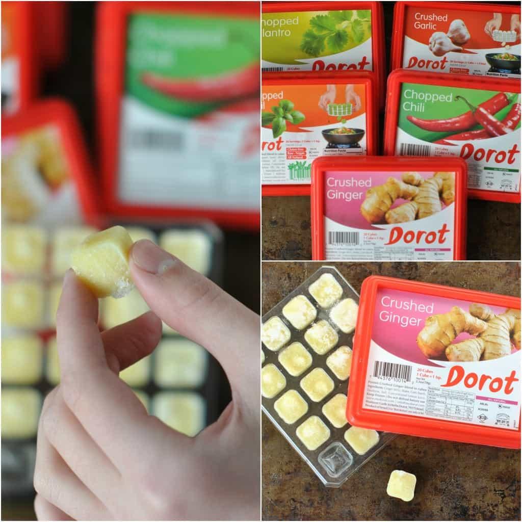 Dorot garlic and herbs