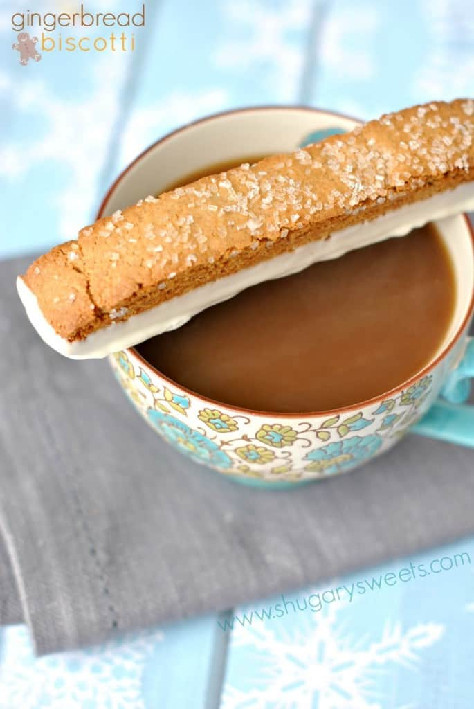 Gingerbread Biscotti: perfect, crunchy biscotti recipe