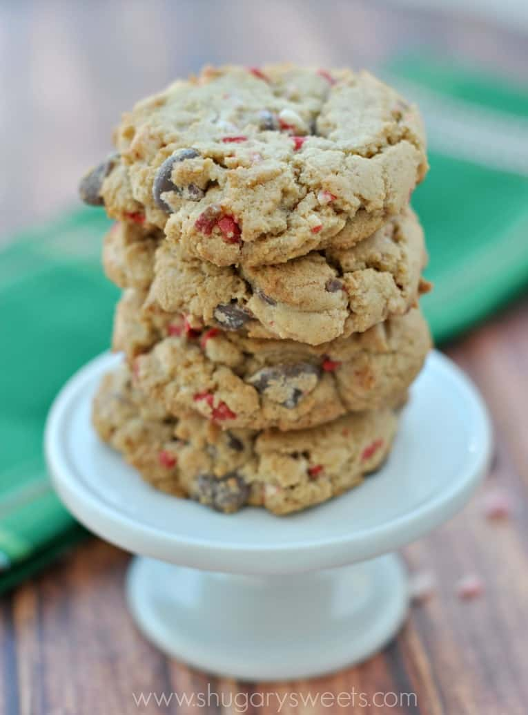 chocolate chip peppermint oreo peppermint crunch cookies chocolate ...