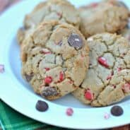 peppermint-mocha-chocolate-chip-cookies