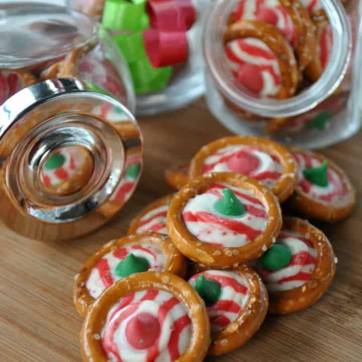 Peppermint Pretzel Candy