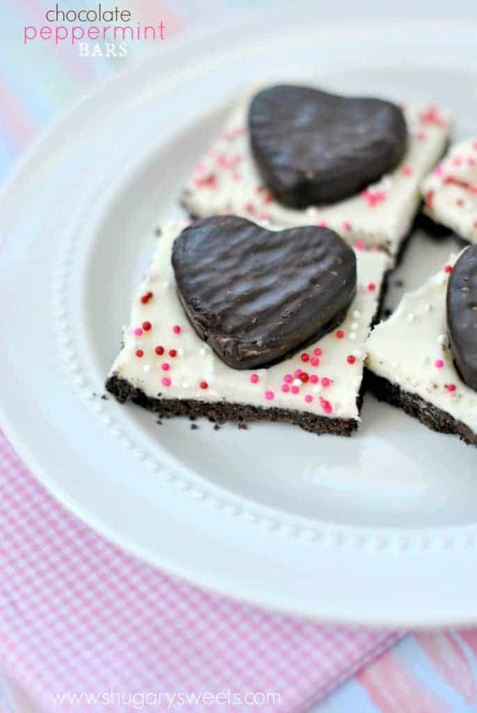 Easy, no bake, Chocolate Peppermint Bars are sure to be a hit as an delicious after dinner mint