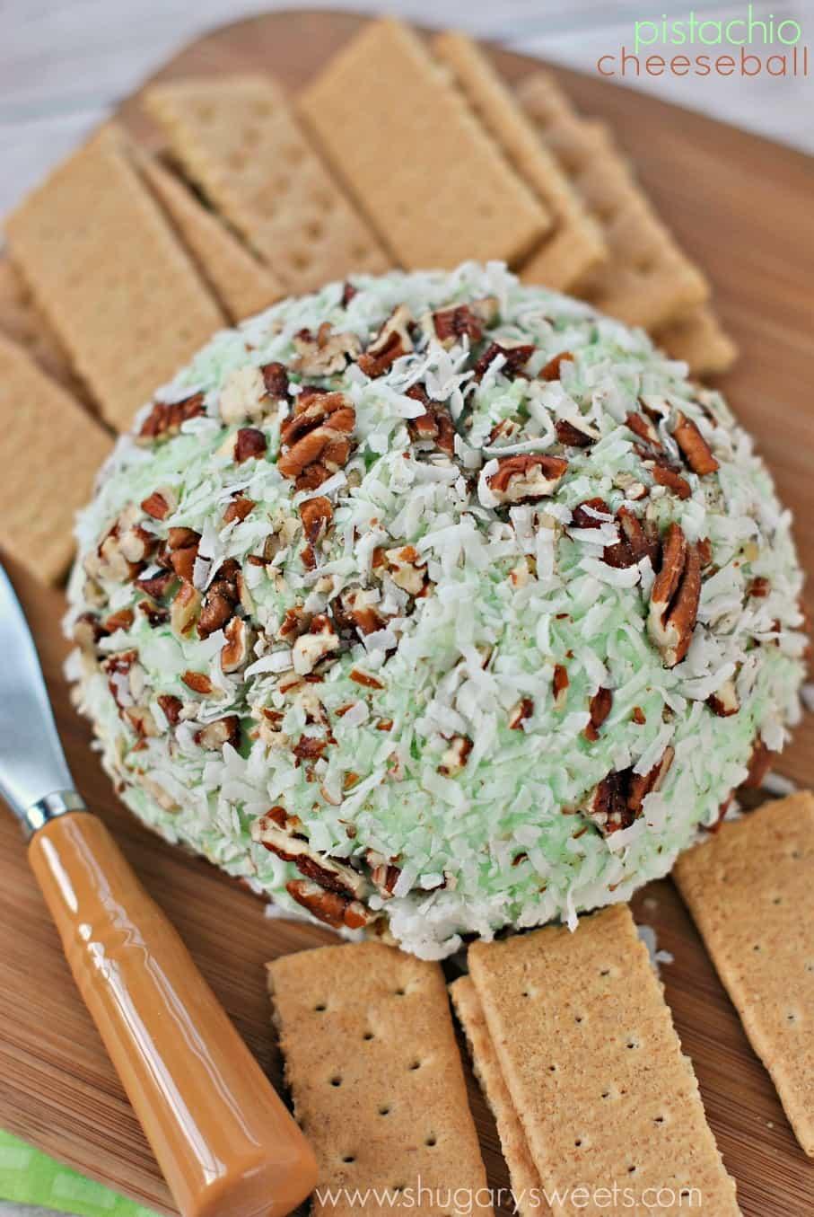 Shugary Sweets: Pistachio Cheeseball