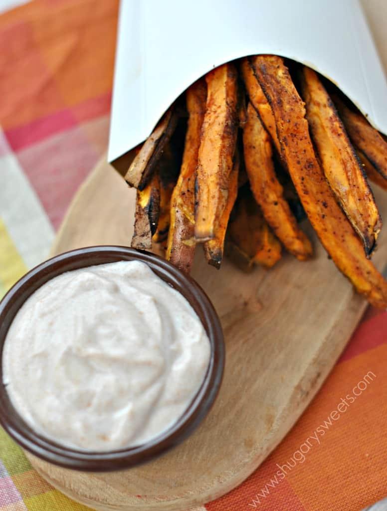 Shugary Sweets: Sweet Potato Fries