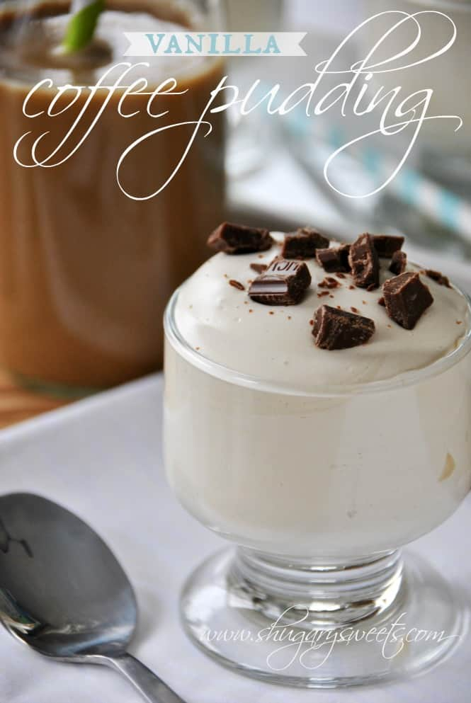 vanilla coffee pudding