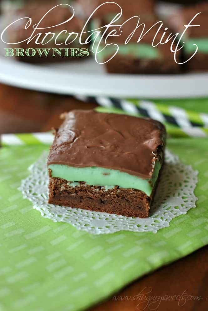 chocolate-mint-brownies