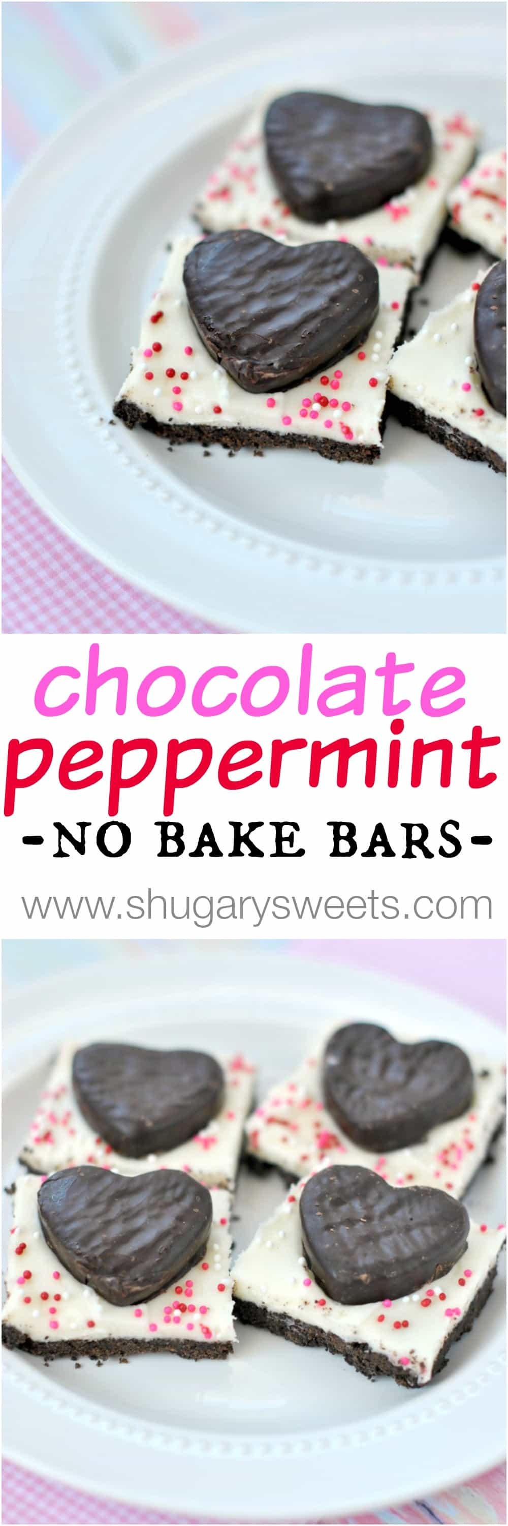 Easy, no bake, Chocolate Peppermint Bars are sure to be a hit as an ...