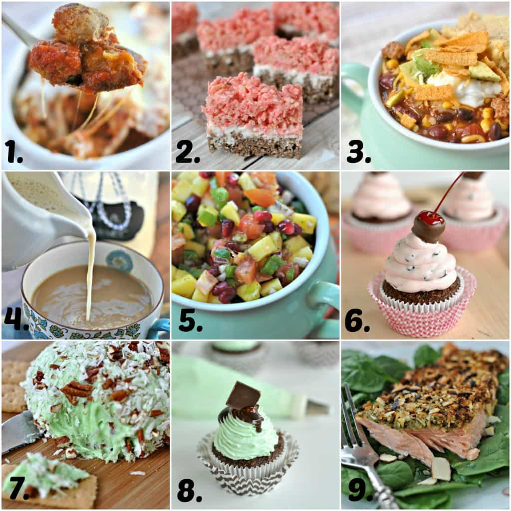 Top 9 recipes from Shugary Sweets...dinners, desserts, snacks and even homemade coffee creamer!!