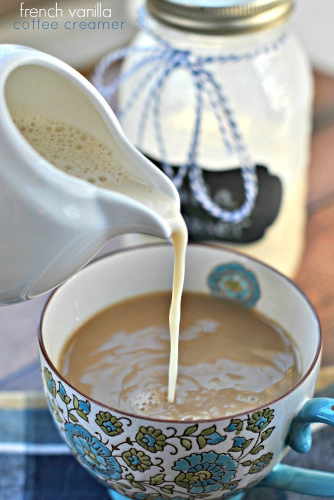 How to make your own coffee creamer vanilla