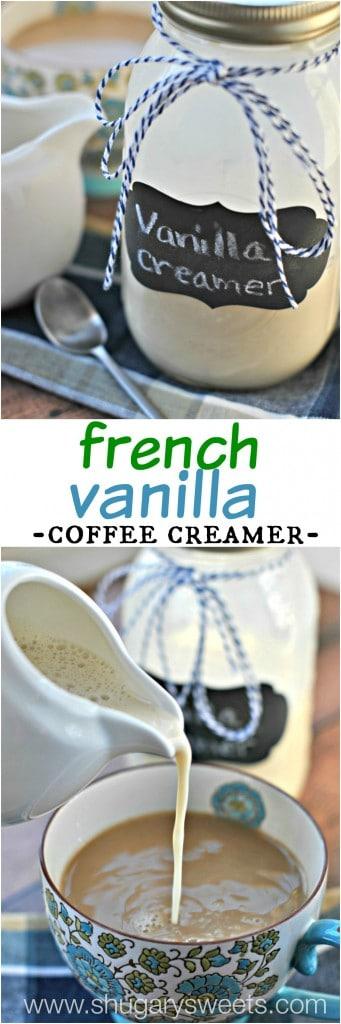 French Vanilla Coffee Creamer - Shugary