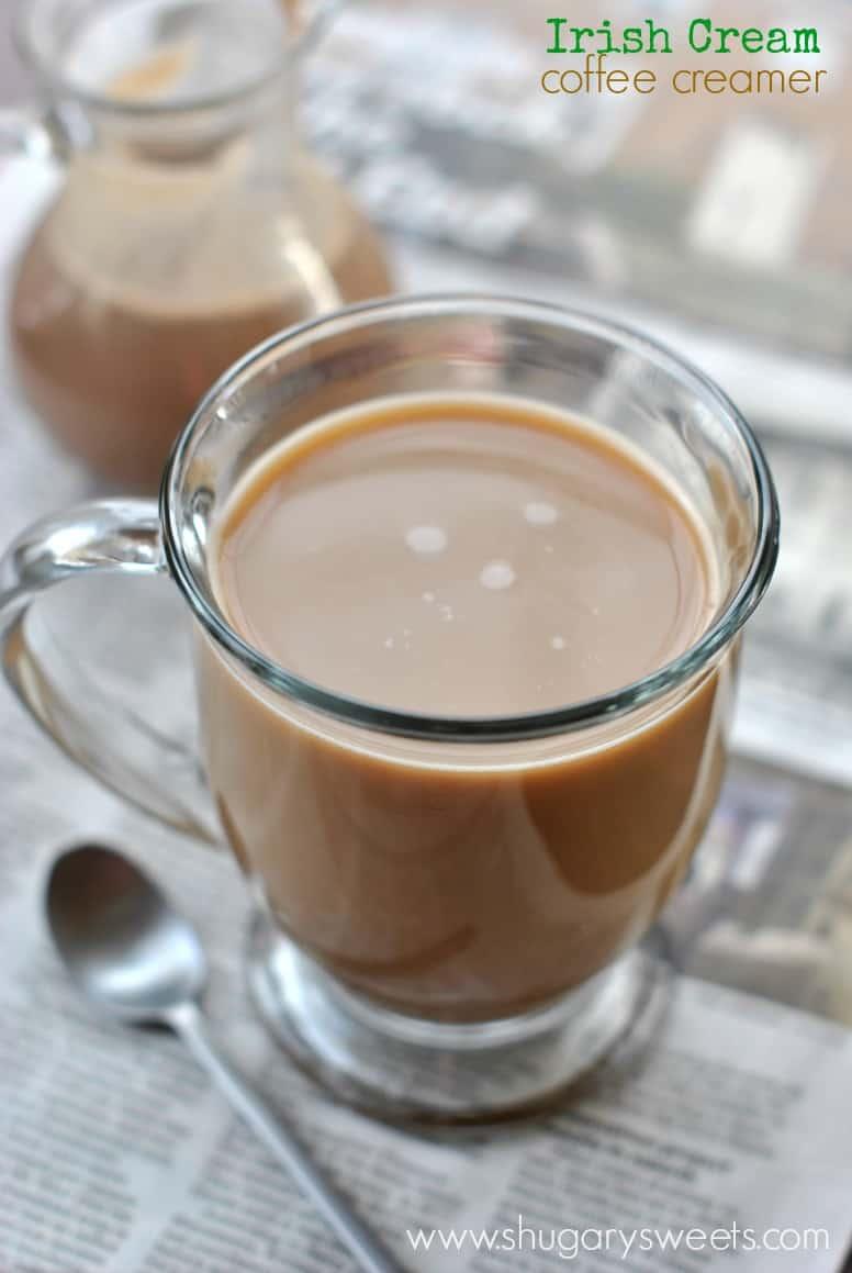 Homemade Almond Joy Coffee Creamer: creamy coconut, almond and chocolate creamer! Indulge!