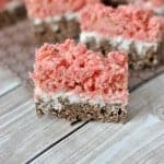 Neapolitan Krispie Treats