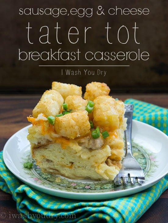 Sausage-Egg-and-Cheese-Tater-Tot-Breakfast-Casserole