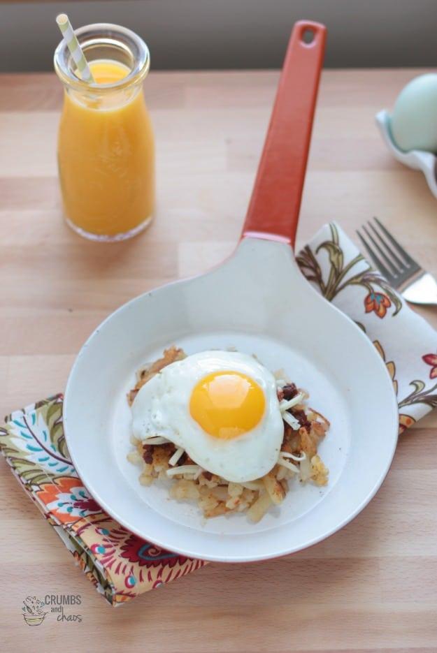 Southwest-Breakfast-Skillet-Stack