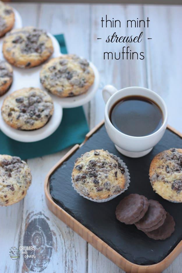 Thin Mint Muffins