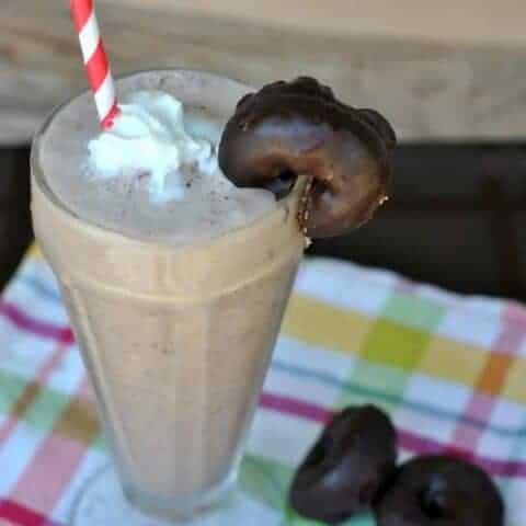 Chocolate Donut Milkshakes