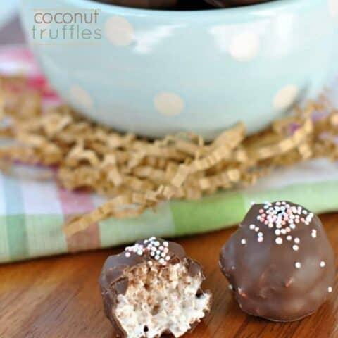 Coconut Truffles Recipe