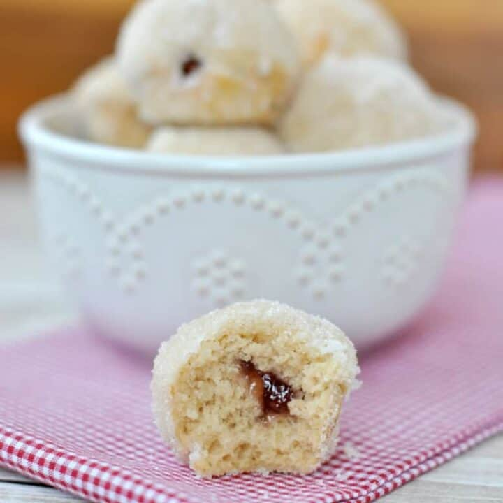 Jelly Filled Donut Holes