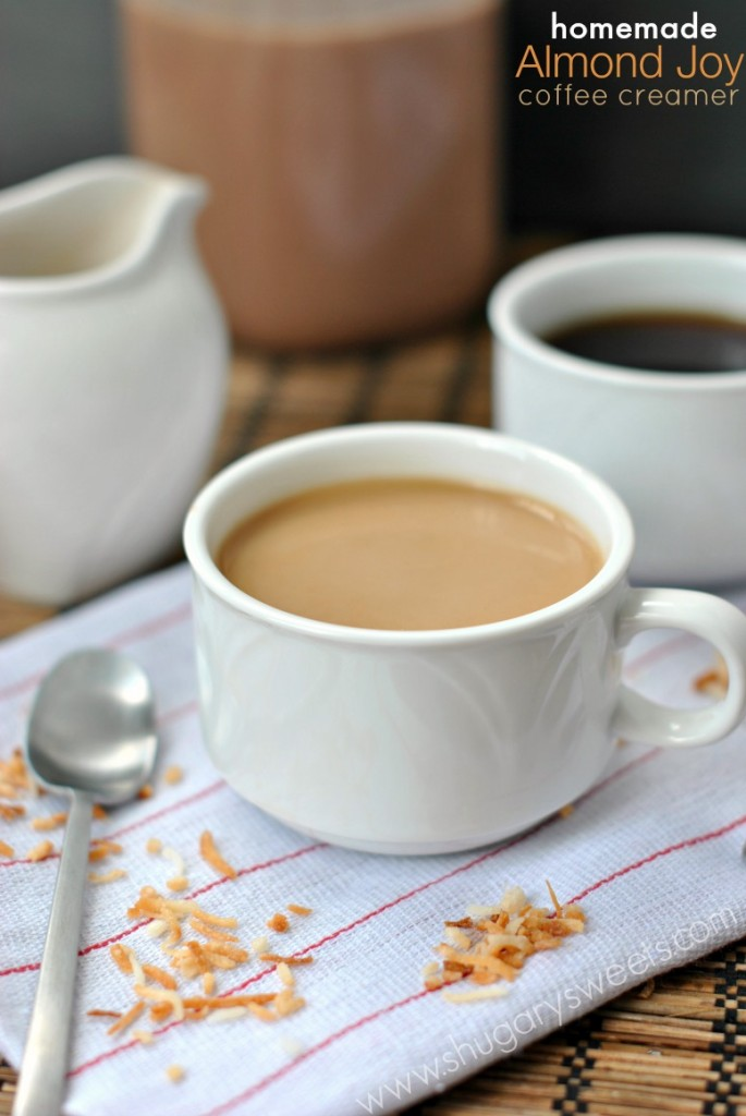 Almond Joy Coffee Creamer