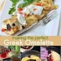 Greek Omelettes