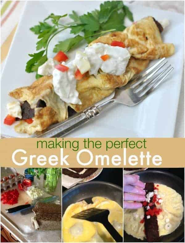 Greek Omelettes