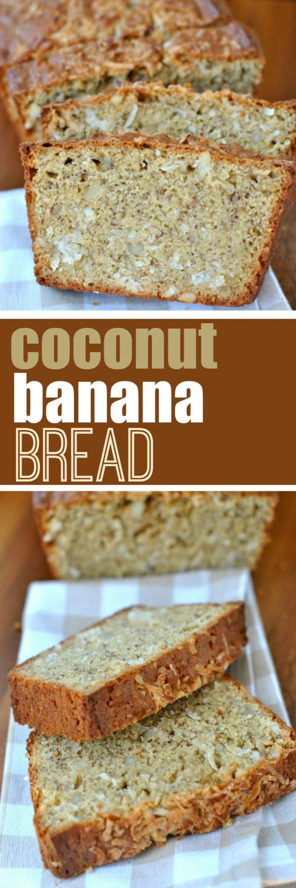 Turn your traditional Banana Bread recipe into something even better! I added shredded coconut and macadamia nuts to my favorite recipe! INCREDIBLE.