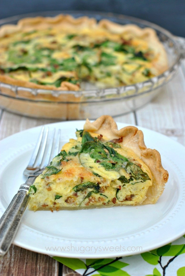 Spinach and Sausage Quiche by Shugary Sweets | Epicurious ...