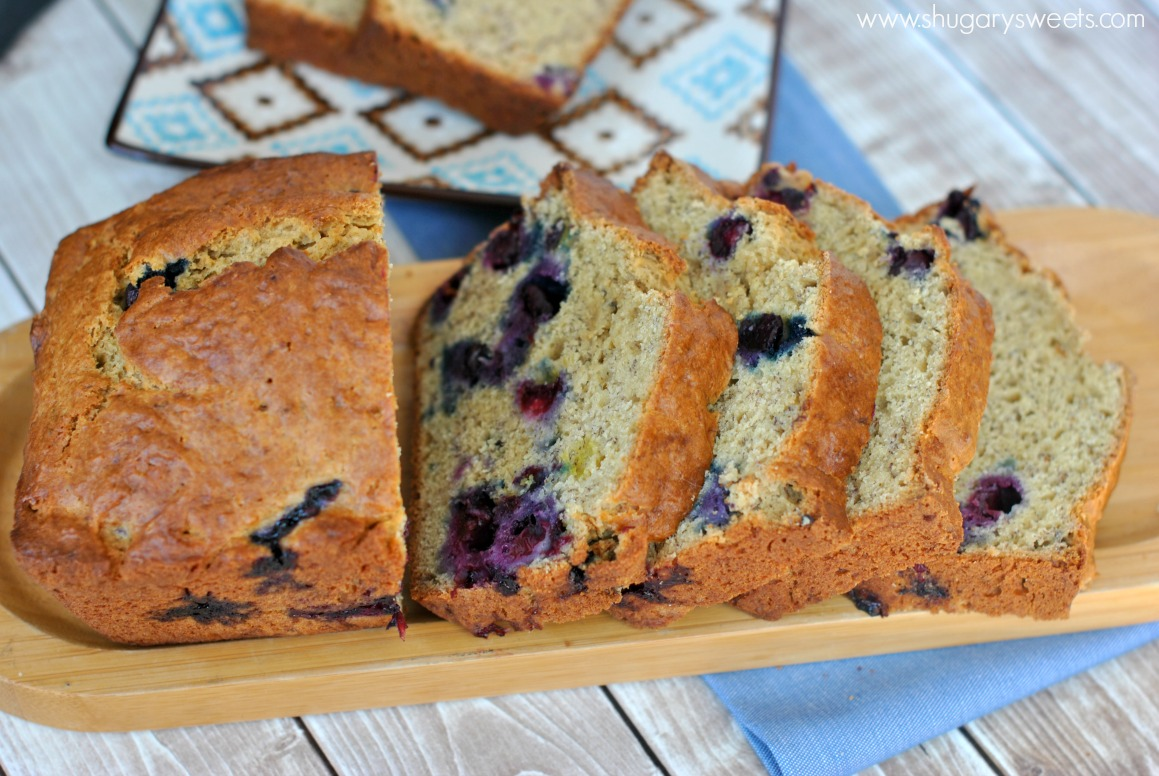 Blueberry Banana Bread Shugary Sweets
