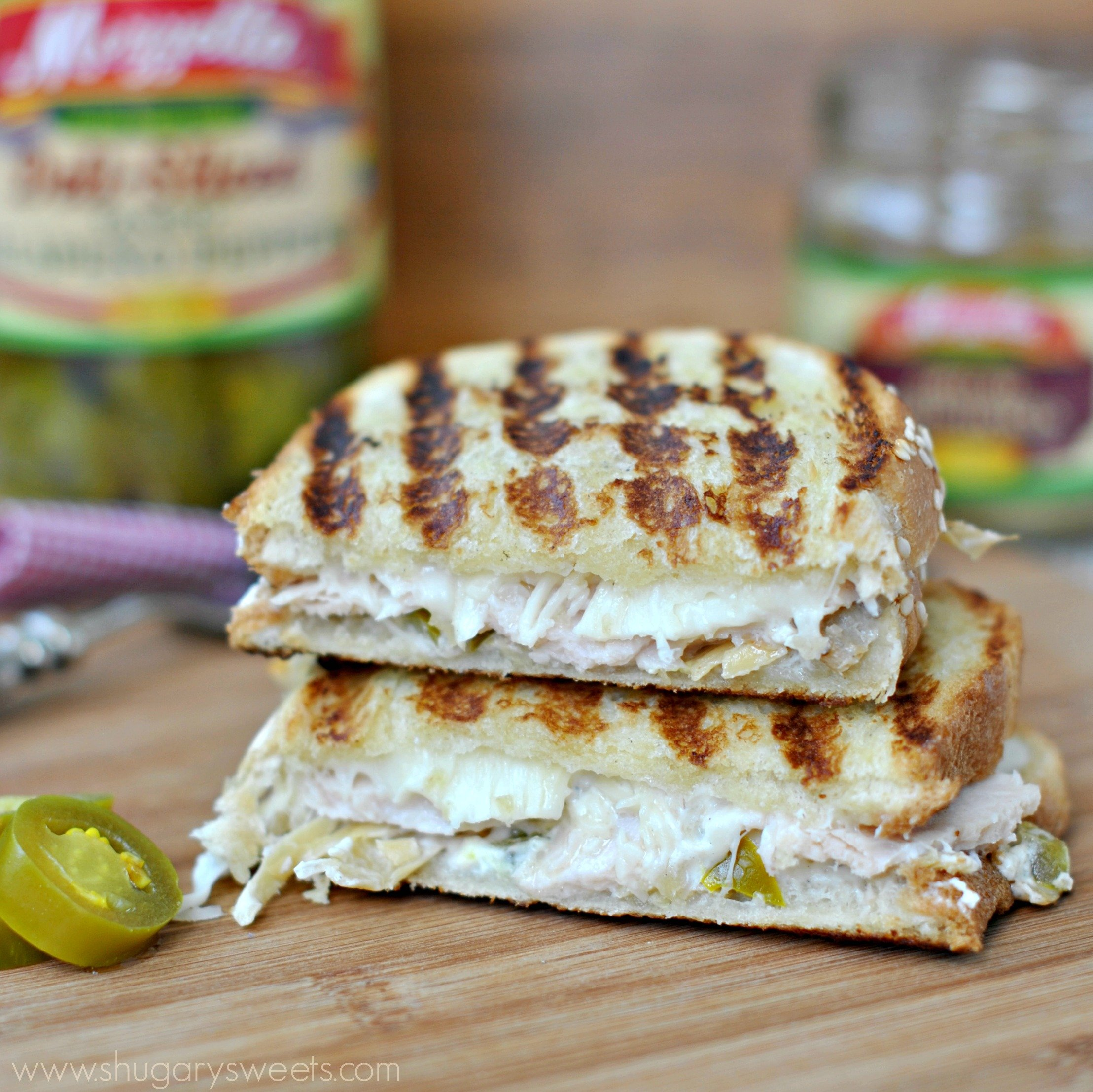 Chicken Artichoke Panini: my favorite sandwich based off my favorite ...