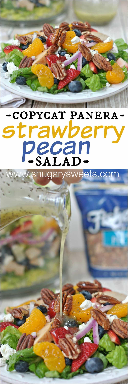 Shugary Sweets: Strawberry Pecan Salad