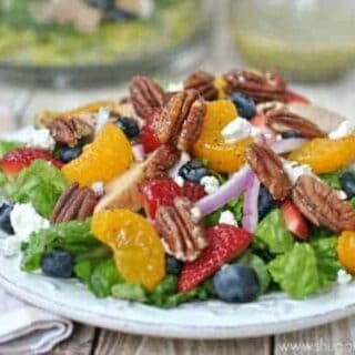 Strawberry Pecan Salad
