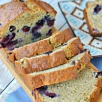 The BEST Blueberry Banana Bread Recipe