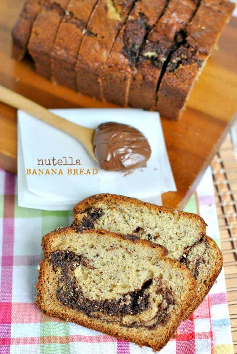Roasted Banana-Nutella Quick Bread Recipes — Dishmaps