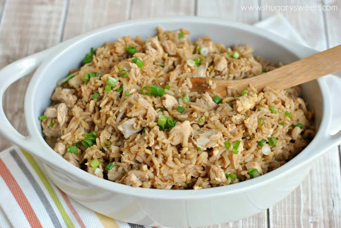 Easy Kid Friendly Chicken Fried Rice Recipe Bensbeginners Dinner